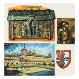 Casket, in the Museum of Leather in London, Which May Have Belonged to Charles V of Spain Giclee Print by  Escott