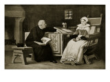 Lady Jane Grey in Prison, Illustration from 'Hutchinson's Story of the British Nation', C.1923 Giclee Print by William Frederick Yeames