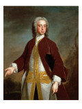 Portrait of Lord Sherard Manners, 6th Son of the Duke of Rutland, before 1742 Giclee Print by Allan Ramsay