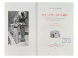 Frontispiece of 'Madame Bovary' by Gustave Flaubert, Engraved by Carlo Chessa Premium Giclee Print by Alfred Paul Marie Richemont