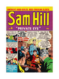 "Archie Comics Retro: Sam Hill ""Private Eye"" Comic Book Cover No.4 (Aged) Prints"