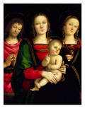 The Madonna and Child with St. John the Baptist and St. Catherine of Alexandria Giclee Print by  Perugino