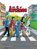 Archie Comics Cover: Archie Digest No.250 The Archies Stretched Canvas Print by Rex Lindsey