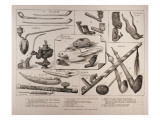 Pipes of All Peoples, from 'The Illustrated London News', 25th February 1882 Giclee Print by  English School