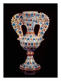 Tin-Glazed Vase with Lustre Decoration, Hispano-Moresque, Valencia, 3rd Quarter of 15th Century Giclee Print by  Spanish School