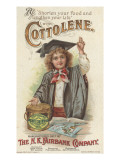 shorten Your Food and Lengthen Your Life', Advertisement for Fairbank's Cottolene, 1896 Giclee Print by American School