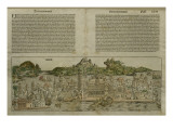 View of Venice, Illustration from the 'Liber Chronicarum' by Hartmann Schedel Giclee Print by  German School