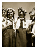 Girls in Happy Mood, from 'Germany: the Olympic Year', Pub. by Volk Und Reich Verlag Berlin, 1936 Giclee Print by  German photographer