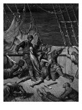 The Sailors Curse the Mariner, Forced to Wear the Dead Albatross around His Neck Giclee Print by Gustave Dore
