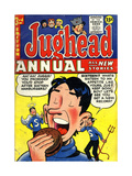 Archie Comics Retro: Jughead Annual Comic Book Cover 3 (Aged) Art