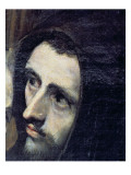 The Burial of Count Orgaz, from a Legend of 1323, Detail of a Franciscan Monk, 1586-88 Giclee Print by  El Greco