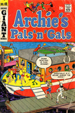 Archie Comics Retro: Archie's Pals 'n' Gals Comic Book Cover No.48 (Aged) Poster