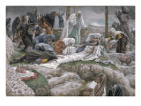The Holy Virgin Receives the Body of Jesus, Illustration for 'The Life of Christ', C.1884-96 Giclee Print by James Tissot