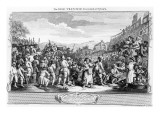 The Idle 'Prentice Executed at Tyburn, Plate Xi of 'Industry and Idleness', 1747 Giclee Print by William Hogarth
