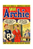 Archie Comics Retro: Archie Comic Book Cover No.71 (Aged) Prints