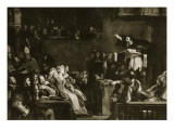 John Knox Preaching before the Lords of Congregation in the Cathedral of St. Andrews, 1559 Giclee Print by Sir David Wilkie