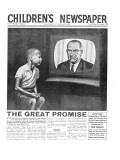 American Civil Rights, Front Page of 'The Children's Newspaper', August 1964 Giclee Print by English School