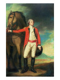 Portrait of Major-General James Hartley, in Captain's Uniform of the Bombay Army Giclee Print by  Romney