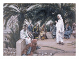The First Shall Be the Last, Illustration for 'The Life of Christ', C.1886-94 Giclee Print by James Jacques Joseph Tissot