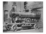 Baldwin Locomotive Works, Trades Exhibit, Constitutional Centennial Celebration Giclee Print by American Photographer