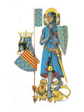 Louis the Ninth, Leader of the Last Two Crusades and One of the Greatest Kings of France Giclee Print by  Escott