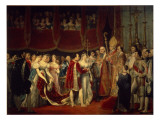The Marriage Ceremony of Napoleon I and Archduchess Marie-Louis on 2nd April 1810 Giclee Print by  Rouget