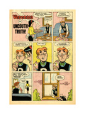 Archie Comics Retro: Veronica Comic Strip; Uncouth Truth (Aged) Prints