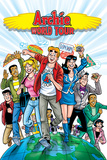 Archie Comics Cover: Archie World Tour Posters by Rex Lindsey
