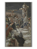 The Pardon of the Good Thief, Illustration from 'The Life of Our Lord Jesus Christ', 1886-94 Giclee Print by James Jacques Joseph Tissot