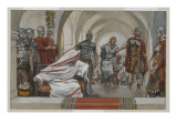 Jesus Led from Herod to Pilate, Illustration from 'The Life of Our Lord Jesus Christ', 1886-94 Giclee Print by James Jacques Joseph Tissot