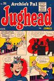 Archie Comics Retro: Jughead Comic Book Cover No.31 (Aged) Prints