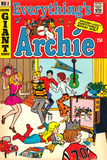 Archie Comics Retro: Everything's Archie Comic Book Cover No.1 (Aged) Prints