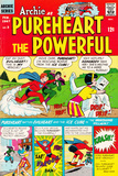Archie Comics Retro: Pureheart The Powerful Comic Book Cover 3 (Aged) Print