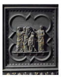 The Disciples Visit Jesus, Fourteenth Panel of the South Doors of the Baptistery of San Giovanni Giclee Print by Andrea Pisano