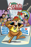 Archie Comics Cover: Archie & Friends No.155 Little Archie Pets Featuring Justin Beaver Print by Fernando Ruiz