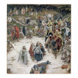 What Christ Saw from the Cross, Illustration for 'The Life of Christ', C.1886-96 Giclee Print by James Jacques Joseph Tissot