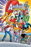 Archie Comics Cover: Archie &amp; Friends 150 Return To The Comic Shop Art by Fernando Ruiz