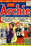 Archie Comics Retro: Archie Comic Book Cover No.74 (Aged) Poster