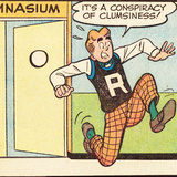 Archie Comics Retro: Archie Comic Panel; Conspiracy of Clumsiness (Aged) Prints