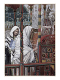 Jesus Teaching in the Synagogue, Illustration for 'The Life of Christ', C.1886-94 Giclee Print by James Tissot