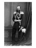 Portrait of Grand Duke Michael Nikolaevich of Russia, from the Studio of E. Westly and Co. Giclee Print by Russian Photographer