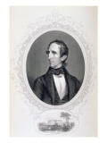 John Tyler, from 'The History of the United States', Vol. Ii, by Charles Mackay, Engraved C. Holl Giclee Print by Charles Fenderich