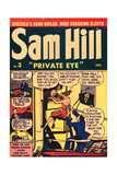 Archie Comics Retro: Sam Hill Private Eye Comic Book Cover 3 (Aged) Poster