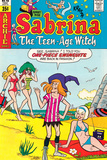 Archie Comics Retro: Sabrina The Teenage Witch Comic Book Cover No.48 (Aged) Prints
