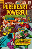 Archie Comics Retro: Pureheart The Powerful Comic Book Cover No.1 (Aged) Poster