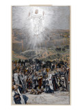 The Ascension from the Mount of Olives, Illustration for 'The Life of Christ', C.1884-96 Giclee Print by James Tissot