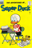 Archie Comics Retro: Super Duck Comic Book Cover 90 (Aged) Print