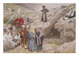 St. John the Baptist and the Pharisees, Illustration for 'The Life of Christ', C.1886-96 Giclee Print by James Jacques Joseph Tissot