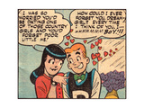 Archie Comics Retro: Archie and Veronica Comic Panel; Dream Girl (Aged) Prints