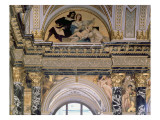 Interior of the Kunsthistorisches Museum, Vienna Depicting Archway with Spandrel Decoration Giclee Print by Gustav Klimt